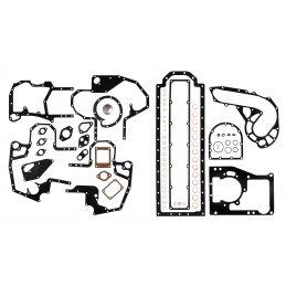 Zestaw uszczelek dół silnika Case IH D310, D358, DT358, DT402 - materiał CV